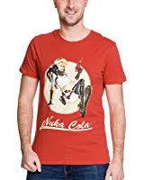 fallout 4 men s nuka cola lady t shirt amazon co uk clothing