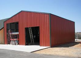 This RV Storage Building Measures 38 X 42 X14