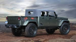 100 4 Door Jeep Truck 2019 Wrangler Pickup To Feature Convertible Soft Top