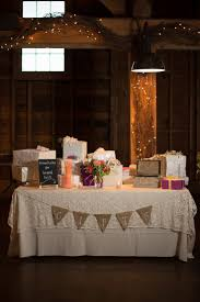 Rustic Wedding Bride And Groom Table