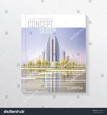 100 Contemporary Design Magazine Modern Real Estate Architecture Concept Stock Vector
