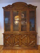 Vintage Singer Furniture Dining Room Hutch Solid Wood