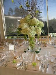 Tall Wedding Centerpieces Hydrangeas Centerpiece
