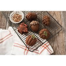 Nordic Ware Pumpkin Loaf Pan by Amazon Com Nordic Ware Autumn Treats Pan Bronze Kitchen U0026 Dining