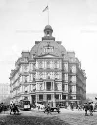 Orange Logic NYC City Hall Post fice and Courthouse 1900s