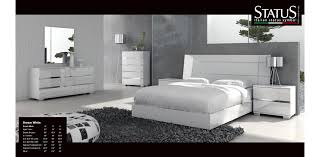 White Bedroom Set 5pc At Home USA Italy