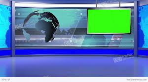 News TV Studio Set 97