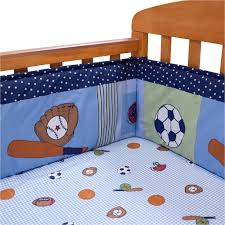 Bedtime Originals Super Sports Mini Crib Bumper & Reviews