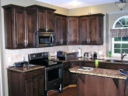 Oakcraft Cabinets Full Overlay by Refinishing Oak Cabinets How To Strip And Refinish Kitchen