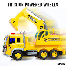 100 Toy Trucks For Kids Amazoncom Friction Powered Excavator Truck With Lights