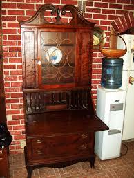 Antique Secretarys Desk by Antique Secretary Desk Hutch By Union Furniture Co Rockford