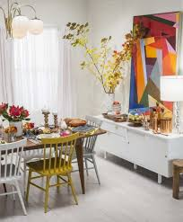 Geometric Decor Ideas Dining Room Colorful Picture Of Frames Wall Vintage Furniture Full Hd Wallpaper