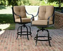 La Z Boy Outdoor Charlotte 2Pk Patio Bar Stools Outdoor Living