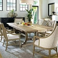 Coastal Dining Table Room Set Large Rustic Sets