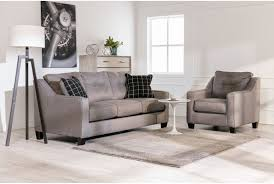 Levon Charcoal Sofa And Loveseat by Brindon Charcoal Queen Sofa Sleeper Living Spaces