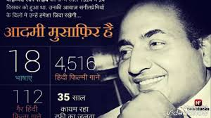 Google Doodle celebrate tribute to Mohammed Rafi on his 93rd