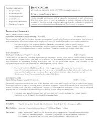 New Police Officer Resume Examples Example Sample For Law