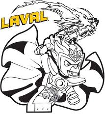 Coloring Page Lego Chima