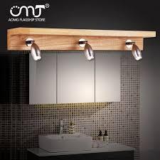 ikea beleuchtung le spiegel holz schlafzimmer toilette waschen badezimmer spiegel fashion licht led