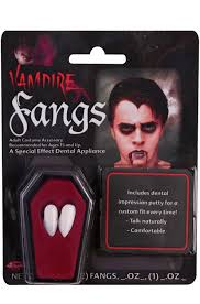 White Halloween Contacts Walmart by Vampire Fangs Walmart Com