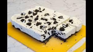 oreo kuchen ohne backen leckerer frischkäse kekskuchen