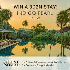 100 Indego Pearl July Giveaway WIN A Free Stay At Indigo In Phuket WanderLuxe