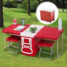 US $74.99 |Goplus Multi Function Rolling Cooler Box Picnic Camping Outdoor  Furniture Set Folding Garden Outdoor Table + 2 Chairs HW51118 On AliExpress  ... Hampton Bay Statesville 5piece Padded Sling Patio Ding Set With 53 In Glass Top Garden Fniture Wikipedia 6 Seater Outdoor Fniture Table And Chairs Cushion Sets Mandaue Foam Great Round Remodel Torino 7 Piece A Guide To Chair Height Branch Outdoor Table Metal From Trib 4 Bistro Steel Heart Cream Devoko 9 Pieces Space Saving Rattan Cushioned Seating Back Sectional