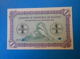 chambre de commerce 12 90 belfort chambre de commerce 1 franc 21 12 1918 specimen ebay