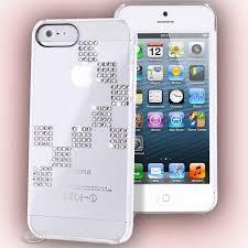 coque pour iphone 5 swarovski transparente motif dama