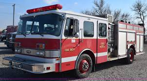 100 Emergency Truck 1991 Federal Motors One Fire Truck Item E6152