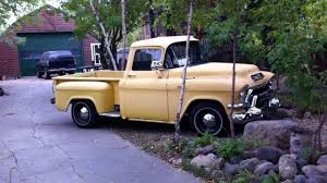 1956 GMC Short Bed Pickup Field Find - YouTube Chevy Cameo Cabover Beauty 1955 Gmc Sierra 1500 Custom Truck For Sale Customer Gallery 1947 To Suburban Custom Rare Coe Cabover Lowrider Hot Jim Carter Truck Parts Beautiful Gmc Trucks For Sale About Aaabacebfd On Cars Design Pickup Classiccarscom Cc1019183 1950 3100 Frame Off Restoration Real Muscle Autolirate Mercury M350 And Other Eton Pickups 1957 Gmc Coe Cabover Ratrod Gasser Car Hauler 1956 Chevy Big Red