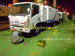 100 Used Sweeper Trucks For Sale ISUZU Fire ISUZU FuelWater Tanker Isuzu Road