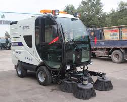 100 Leaf Vacuum Truck Multifunctional Mounted Sweeper Street Cleaning