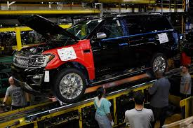 Ford Pumping Out More Profitable Big SUVs To Fund Its Future - San ... The Ford Super Duty Is A Line Of Trucks Over 8500 Lb 3900 Kg Motor Co Historic Photos Of Louisville Kentucky And Environs Revs Up Large Suv Production To Boost Margins Challenge Gm Auto Parts Maker Invest 50m In Thanks Part Us Factory Orders 14 Percent September Spokesmanreview Will Temporarily Shut Down Four Plants Including F150 Factory Vintage Truck Plant How Apply For Job All Sizes 1973 Assembly Flickr Photo Workers Get Overtime After Pickup Slows