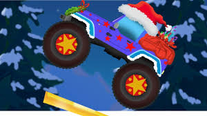 Jeep Monster Truck | Christmas Truck | Video For Children & Babies ... Red Truck Vs Batman Monster Trucks For Children Video Climb A Huge Monster Truck Stunt Show Russian Aftburner Taxi For Kids Series Awesome Tits Stunts Videos Learn Vegetables Bigfoot Migrates West Leaving Hazelwood Without Landmark Metro Cartoon Scene Happy Smiling Race Illustration Two Children Stand Inside Wheel Of Which Is One Transporter Hauler Police Car Repair In Spiderman Super Compilation Mega Free Printable Coloring Pages