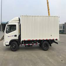 China Light Duty Van Truck/Box Truck/Cargo Truck For Sale - China ...