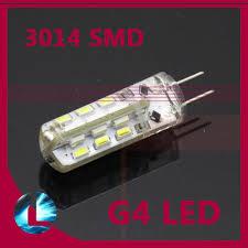 10 pcs g4 led 3w dc 12v 24leds chips replace 20w halogen 360