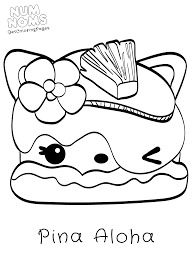 Cute Foods Toy Num Noms Pina Aloha