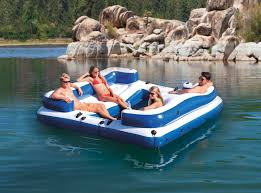 Intex Inflatable Sofa Uk by Intex Oasis Island Inflatable 5 Seater Lake River Floating Lounge