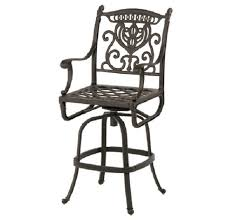 Hanamint Grand Tuscany Patio Furniture by Grand Tuscany Cast Aluminum Bar Height Chair By Hanamint