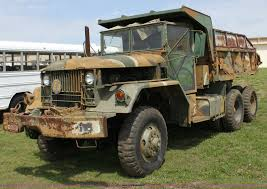 100 6x6 Military Truck 1968 Kaiser Military Dump Truck Item D7696 SOLD May