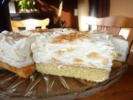 kuchen fantakuchen mit pfirsichschmand