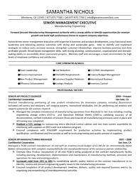 Good Sample Senior Executive Resume Management Manufacturing Engineering Service Project Manager 791x1024 Best Technical