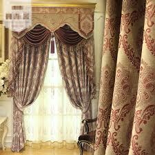 rideaux de sur mesure rideaux sur mesure haute classe européenne chenille jacquard perle