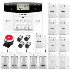 fuers g2 alarme maison sans fil gsm pstn 5 capteur ir infrarouge
