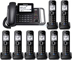 Panasonic KX-TG9588B 2-Line Bluetooth Phone 8 HANDSETS Panasonic Cordless Phone Plus 2 Handsets Kxtg8033 Officeworks Telephone Magic Inc Opening Hours 6143 Main St Niagara Falls On Kxtg2513et Dect Trio Digital Amazonco Voip Phones Polycom Desktop Conference Kxtg9542b Link2cell Bluetooth Enabled 2line With How To Leave And Retrieve Msages On Your Or Kxtgp500 Voip Ringcentral Setup Voipdistri Shop Sip Kxut670 Amazoncom Kxtpa50 Handset 6824 Quad 3line Pbx Buy Ligo Systems