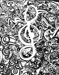 Treble Clef Music Coloring Sheet Difficult