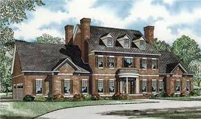Traditional Colonial House Plans Home Design NDG 916