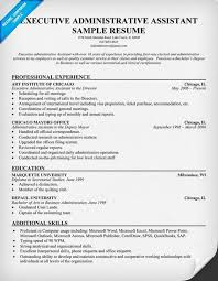 Gallery of sample resumes administrative assistant resume or