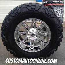 Custom Automotive :: Packages :: Off-Road Packages :: 20x10 Fuel ...